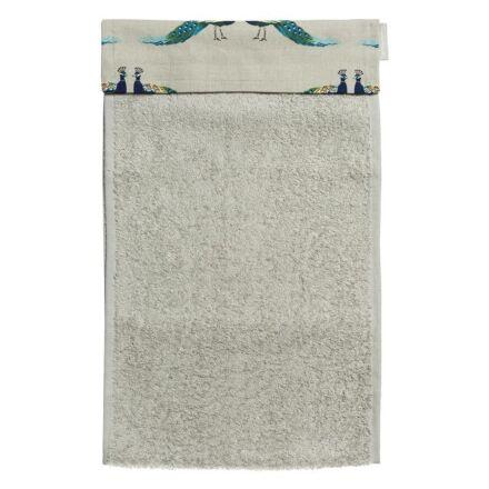 Sophie Allport Roller Hand Towel Peacocks