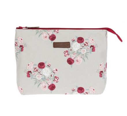 Sophie Allport Peony Large Canvas Wash Bag