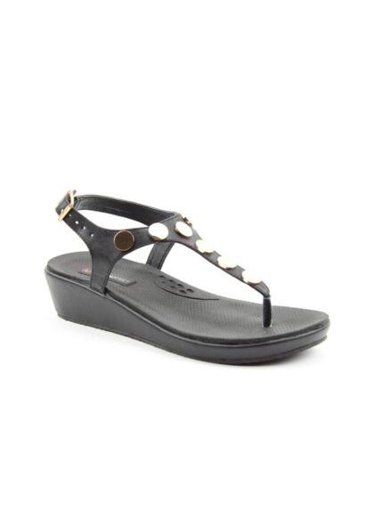 Heavenly Feet Perry Sandals Black