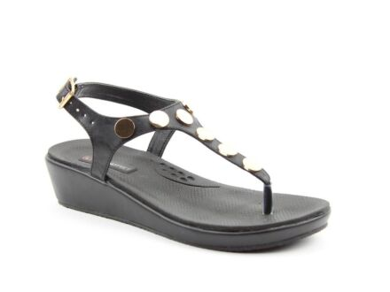 Heavenly Feet Perry Sandals Black