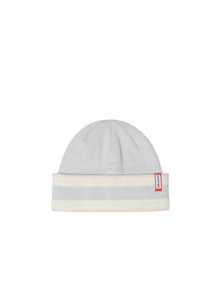 Hunter Original Branded Stripe Hat Salt Pink