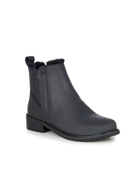 Emu Pioneer Leather Boots Black