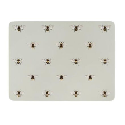 Sophie Allport Set of Four Placemats Bees