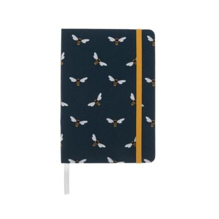 Sophie Allport Bees Small Fabric Notebook