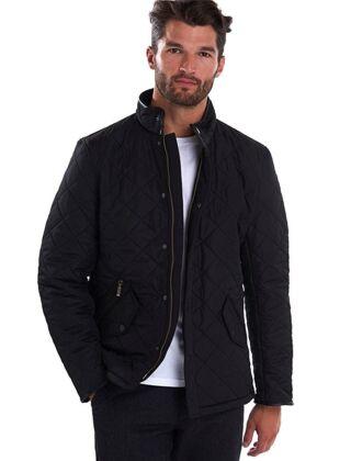 Barbour Powell Quilt Jacket Black