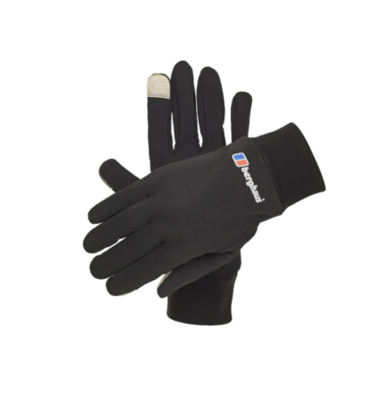 Berghaus Power Stretch Liner Gloves Black