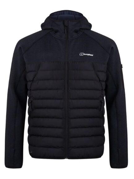 Berghaus Men's Pravitale Hybrid Insulated Jacket Black/Carbon