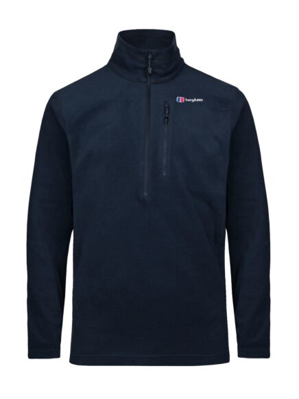 Berghaus Men's Prism Micro Polartec Half Zip Fleece Dusk