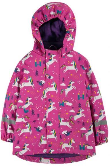 Frugi Puddle Buster Coat Unicorn Puddles