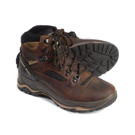 Grisport Womens Quatro Walking Boot Brown