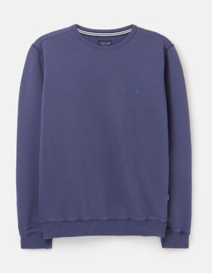 Joules Quay Crew Neck Sweatshirt Buckingham Blue