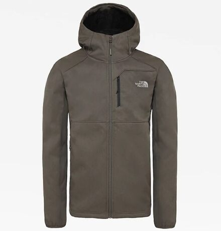 The North Face Men's Quest Softshell Jacket Taupe Green/Dark Heather