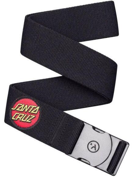 Arcade Belts Santa Cruz Black SC Dot