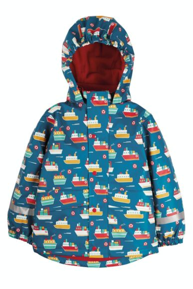 Frugi Puddle Buster Coat Sail the Seas