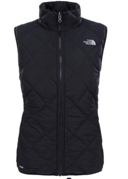 The North Face Women's Zip In Reversible Down Vest Black