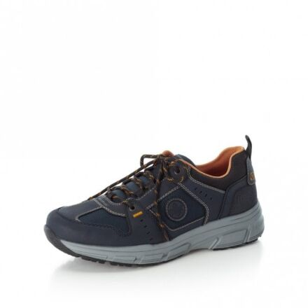 Rieker Bruno Lace Up Trainers Navy