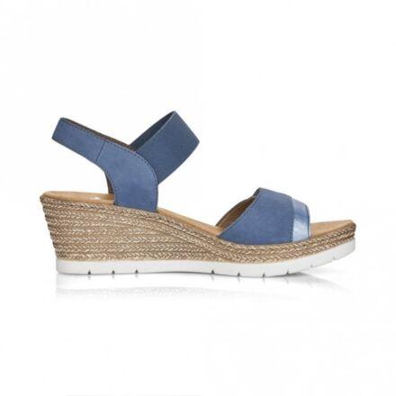 Rieker 61940 Ladies Slip on Sandals Sand