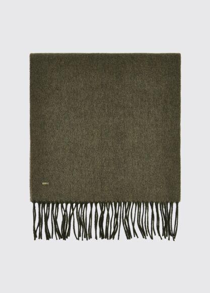 Dubarry Robinson Wool Scarf Dusky Green
