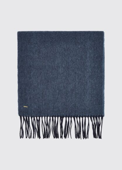 Dubarry Robinson Wool Scarf Navy