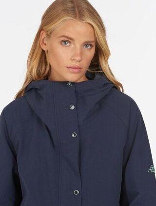 Barbour Salcombe Waterproof Jacket Navy
