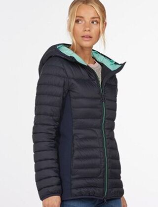 Barbour Saltburn Quilted Jacket Navy