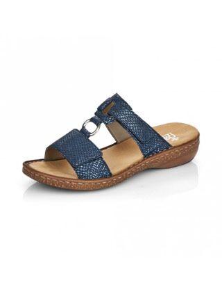 Rieker 628P9-14 Sandal Blue