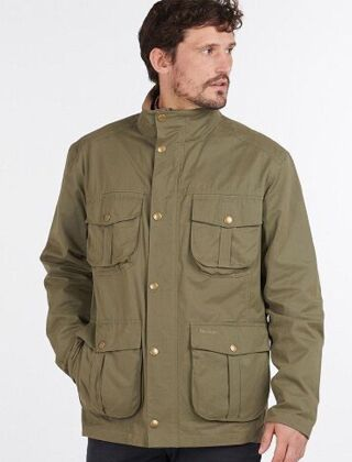 Barbour Sander Casual Jacket Fern