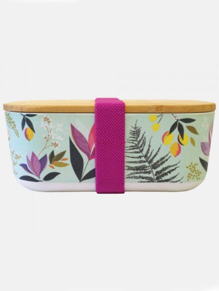Sara Miller Bamboo Lunch Box