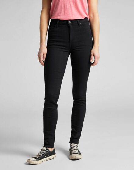 Lee Scarlett High Rise Jeans Black Rinse