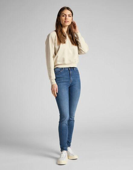 Lee Scarlett High Rise Jeans Mid Copan