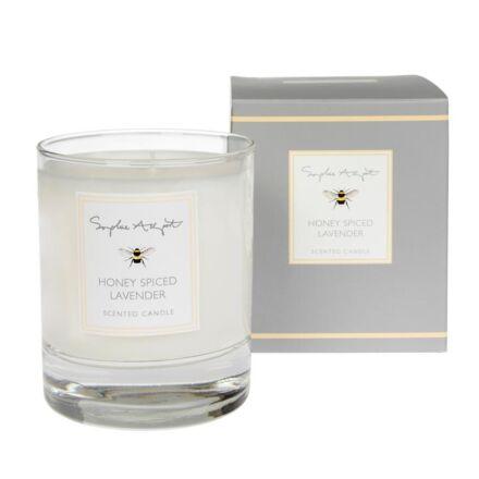 Sophie Allport Honey Spiced Lavender Scented Candle - 220g