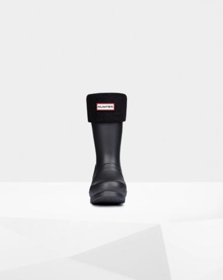 Hunter Kids Welly Boot Socks Black