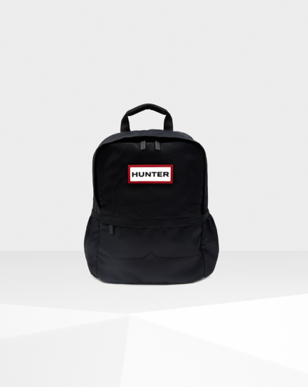 Hunter Original Nylon Small Backpack Black