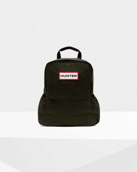 Hunter Original Nylon Small Backpack Olive
