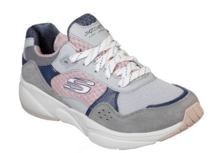 Skechers Meridian Charted Gray Pink