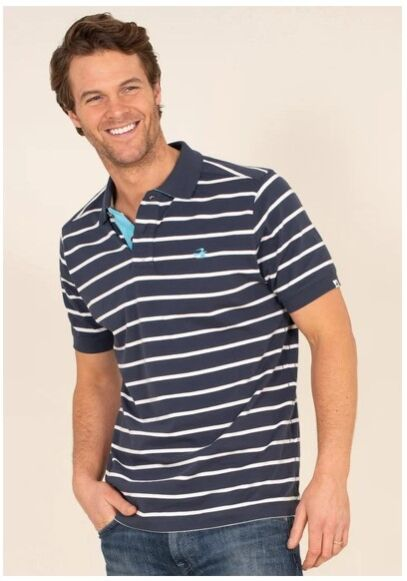Brakeburn Stripe Polo Shirt Multi