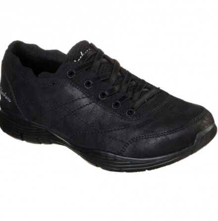 Skechers Seager Bungee Trainer Black