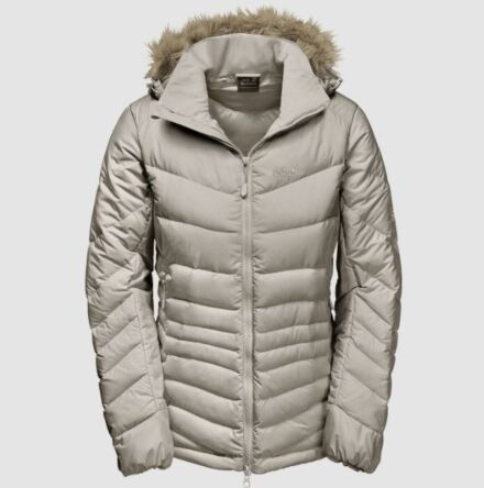 Jack Wolfskin Women's Selenium Bay Down Jacket Dusty Grey