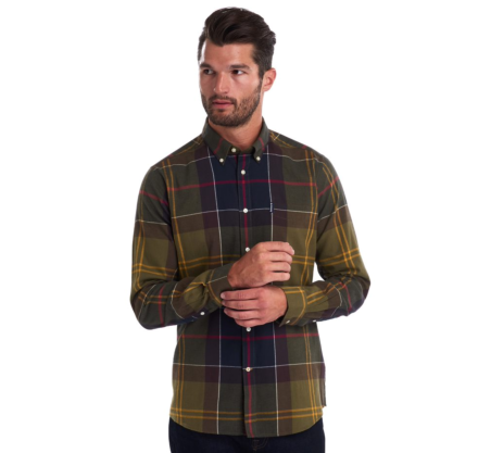 Barbour Tartan 5 Tailored Shirt Classic Tartan