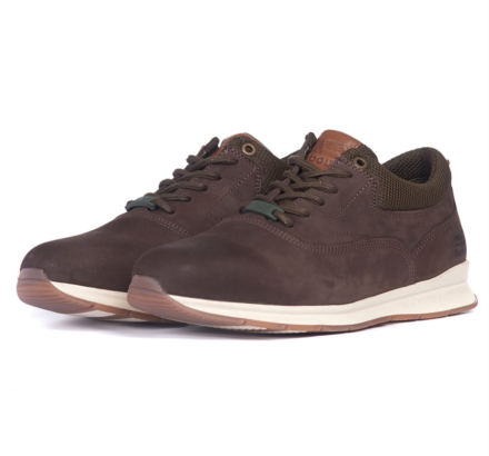 Barbour Langley Shoes Brown