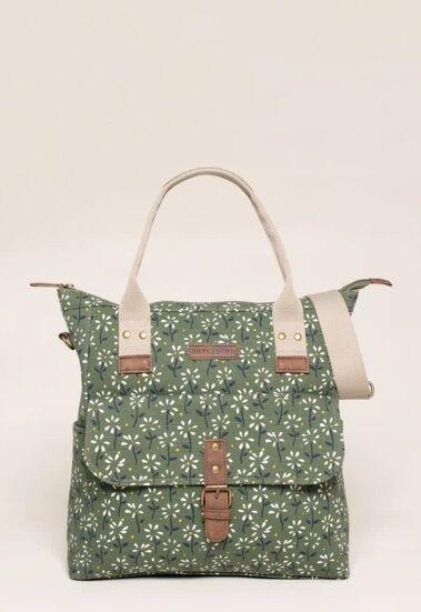 Brakeburn Eden Shopper Bag Green
