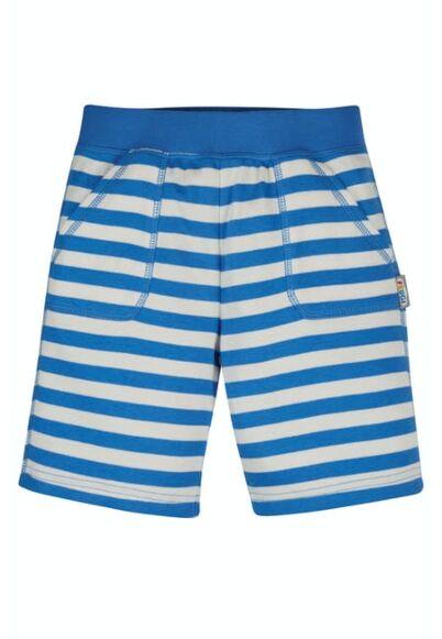 Frugi Favourite Shorts Colbalt Blue Stripe