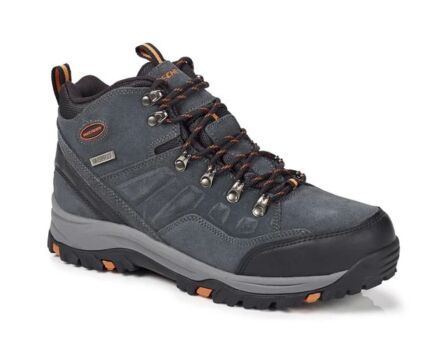 Skechers Relment Pelmo Lace Up Waterproof Boot Grey