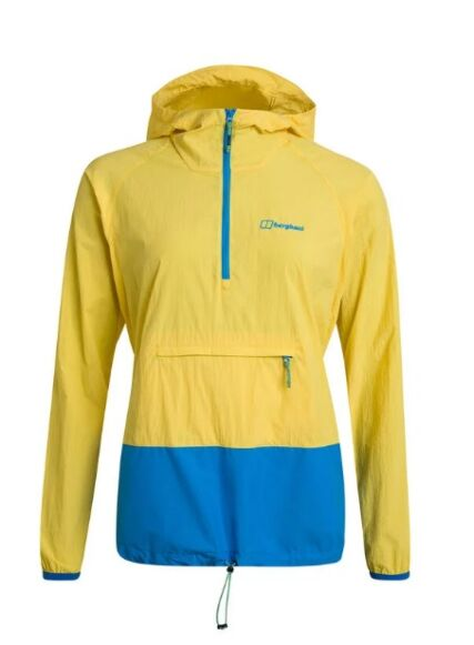 Berghaus Women's Skerray Smock Jacket Yellow/Blue