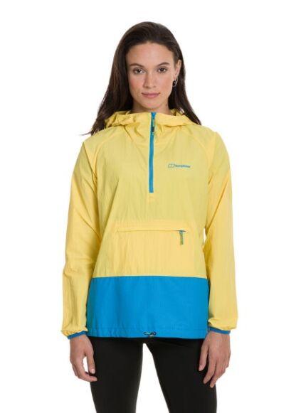 Berghaus Women's Skerray Smock Jacket Yellow/Blue