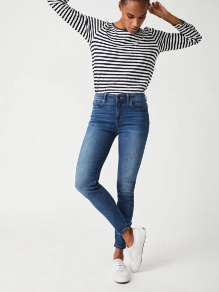 White Stuff Skinny Jeans Mid Denim