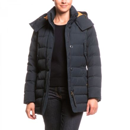 Aigle Skydown Long Down Jacket Midnight
