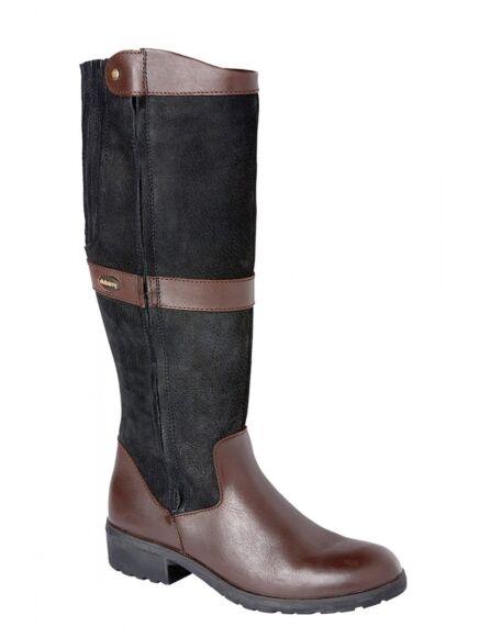 Dubarry Sligo Knee-High Boot Black/ Brown
