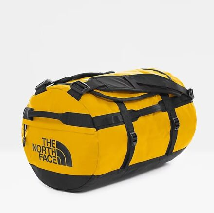 The North Face Base Camp Duffel Bag Summit Gold/Black Small
