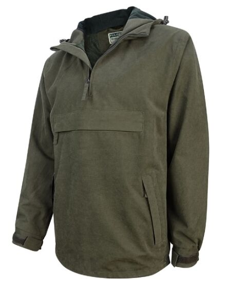 Hoggs of Fife Men's Struther Waterproof Smock Field Jacket Green